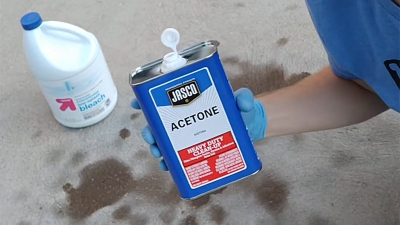 Oil Stains From Concrete Commercial Degreasing Product