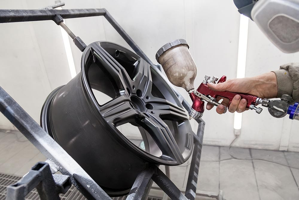 Painting Your Rims