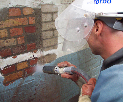 steps for removing brick paint