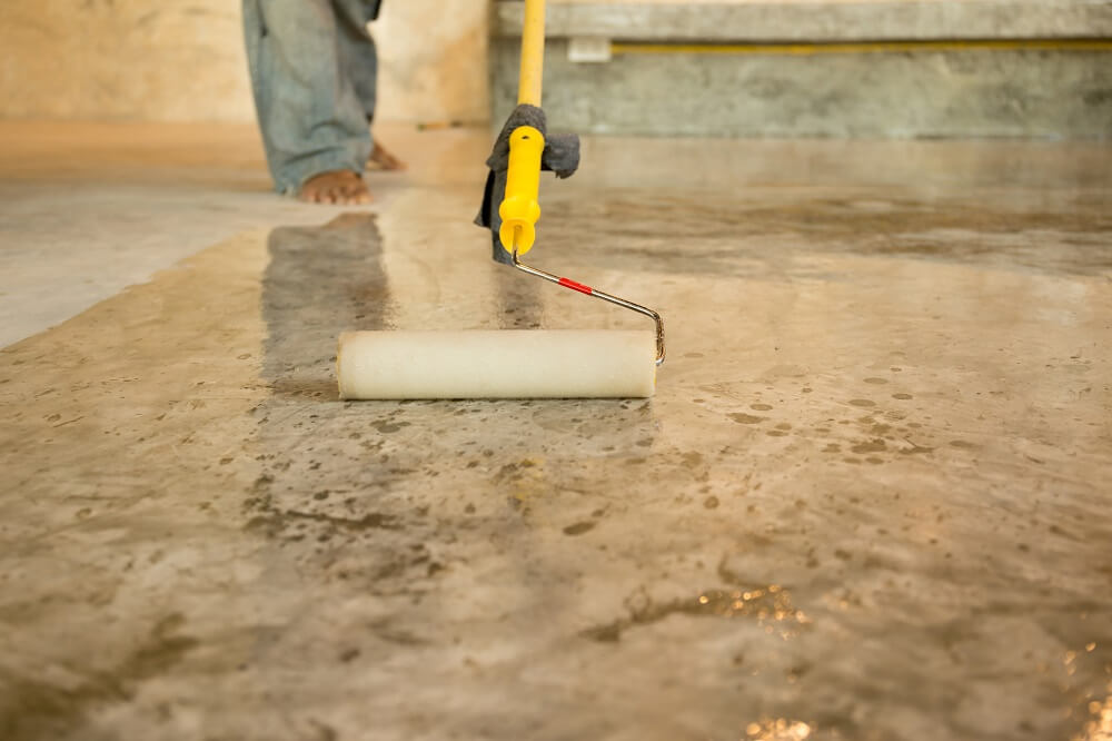 Tips For Painting Your Concrete Floors