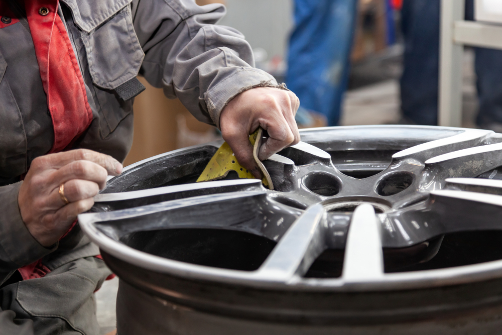 company for painting rims